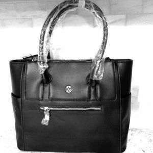 New Christian Lacroix Black Marie Handbag Tote
